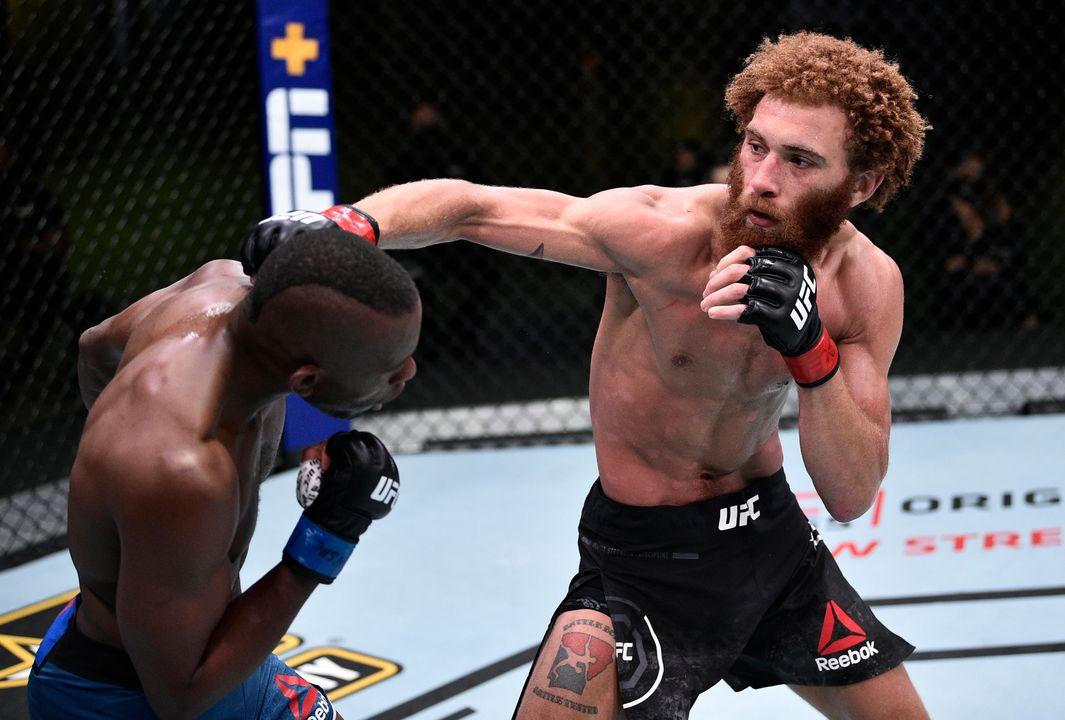 UFC Вегас 4: Луис Пенья (США) vs Кама Ворси (США)