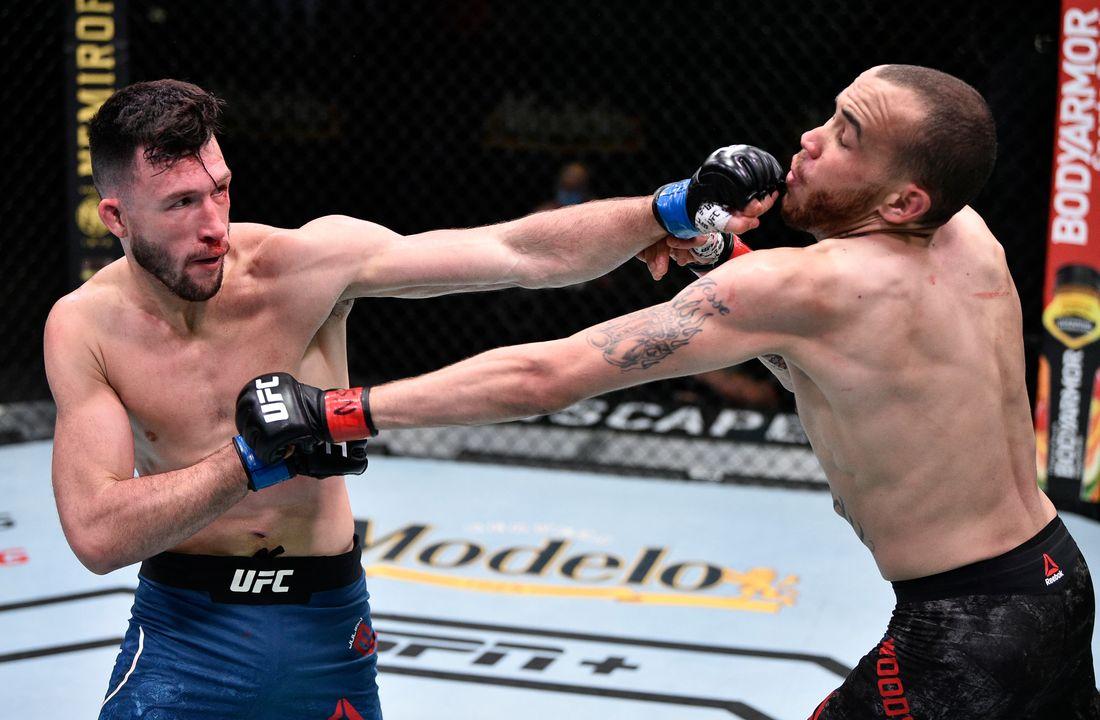 UFC Вегас 4: Шон Вудсон (США) vs Джулиан Эроса (США)