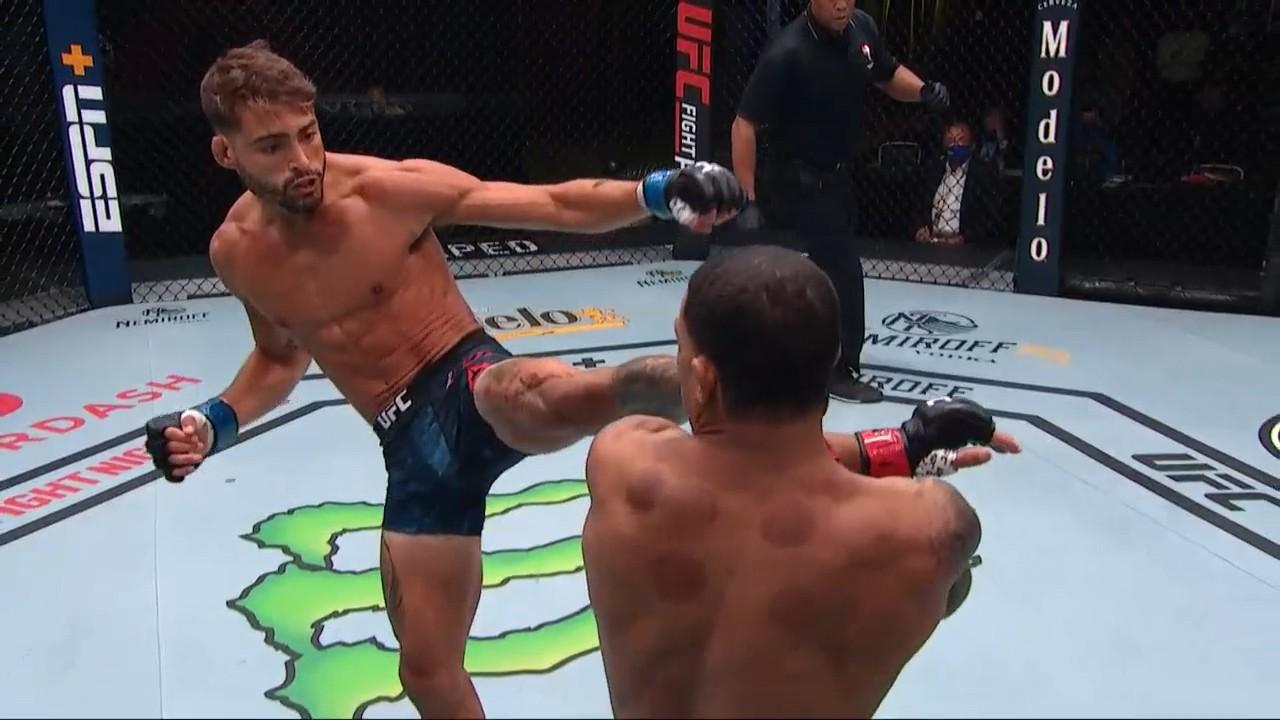 UFC Вегас 11: Джорни Ньюсон (США) vs Рэнди Коста (США)